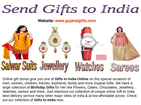 Online Gifts To India Send Gift Birthday For Her By