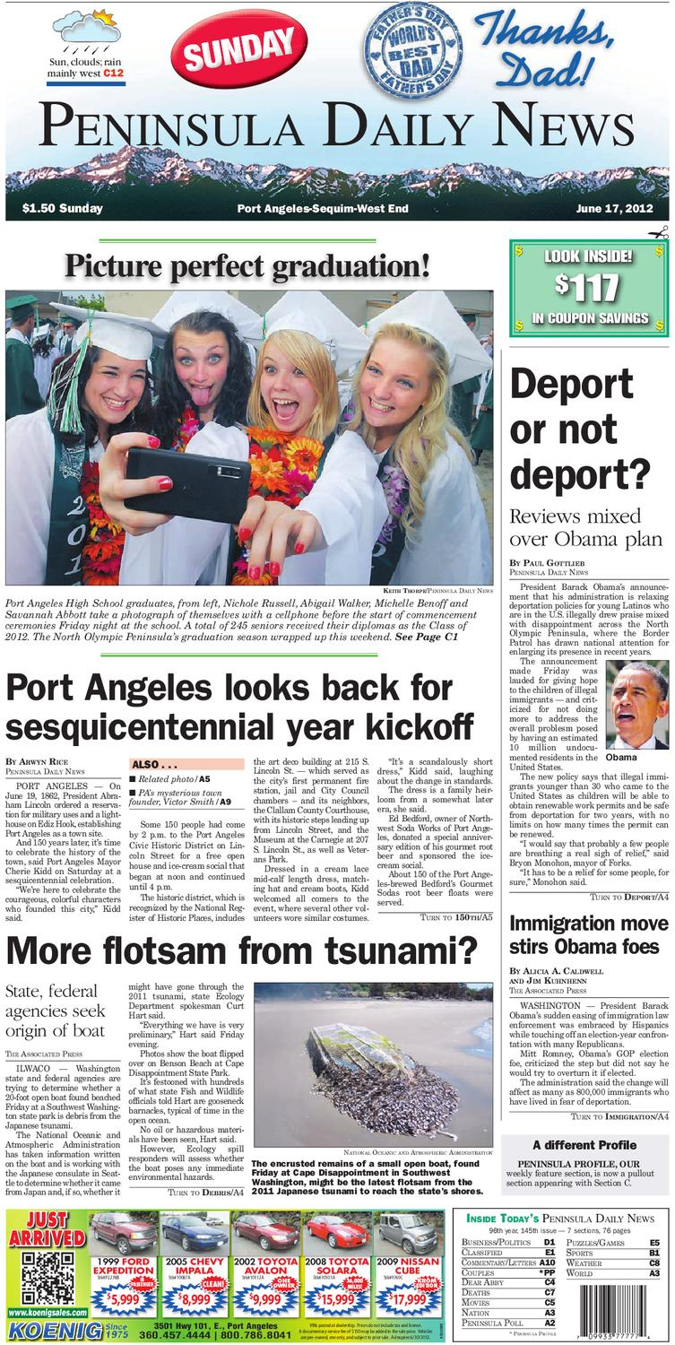 Pdn20120617c By Peninsula Daily News Sequim Gazette Issuu Redstone Circuits Hg Download Piston Armory Clock Elevator