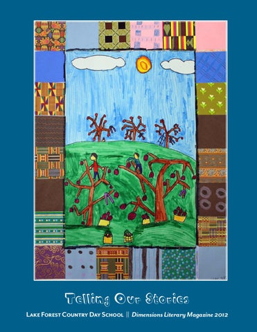 28354f1f6c 2012 Dimensions Literary Magazine by Lake Forest Country Day School ...