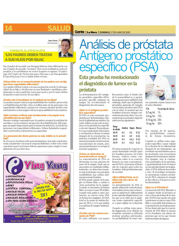 psa extirpación de próstata 0 28 5
