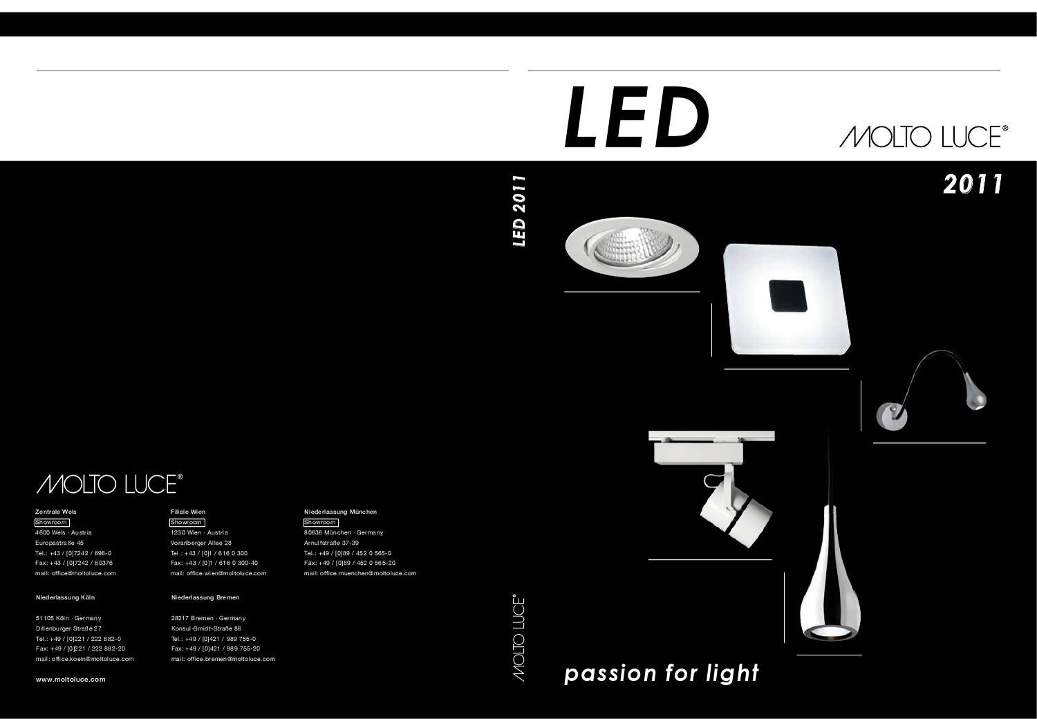 molto luce led 2011 by lightonline issuu. Black Bedroom Furniture Sets. Home Design Ideas