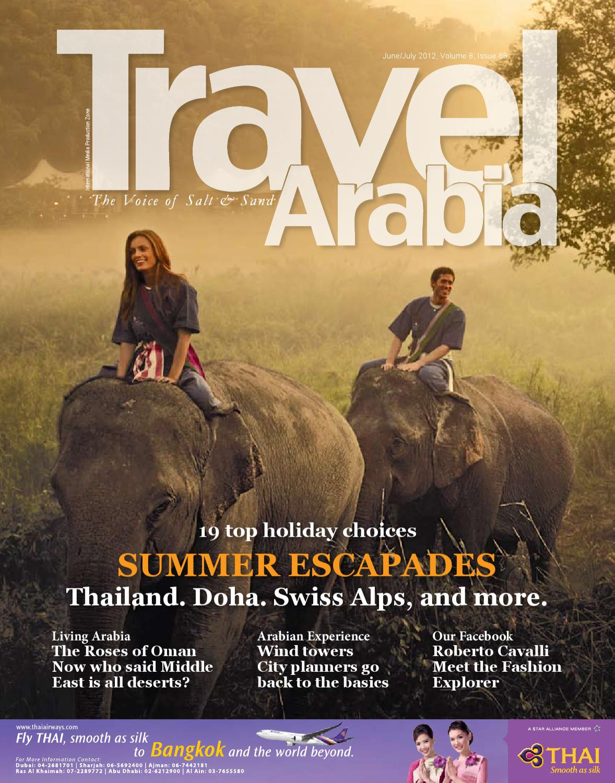 Travel Arabia June July 2012 By Shaza Sharaffdeen Issuu Mom N Bab Short Tee Khaki Animal Head