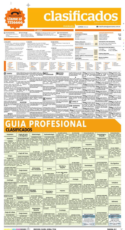 Clasificados 18 de junio de 2012 by Diario Panorama - issuu