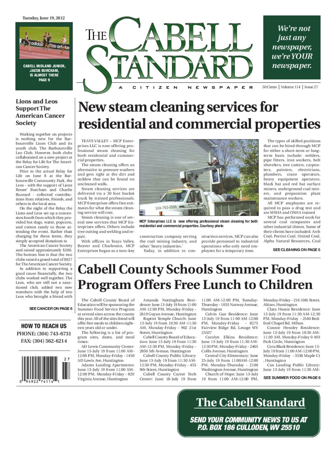 The Cabell Standard by PC Newspapers - issuu