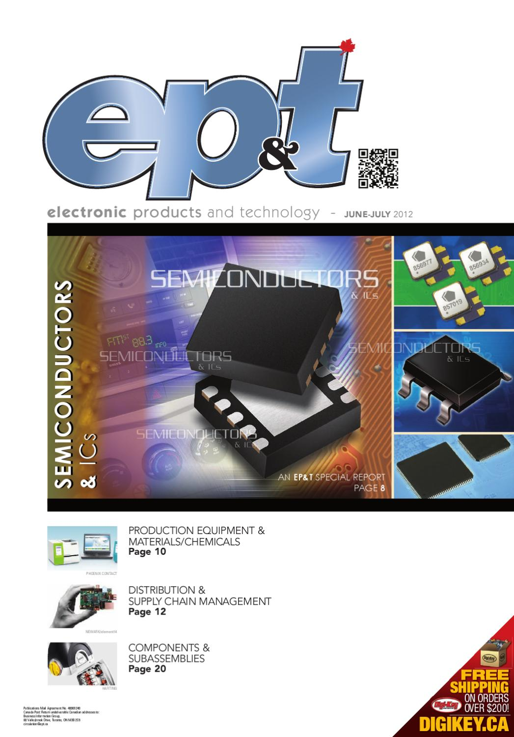Electronic Products and Technology June/July 2012 by Annex