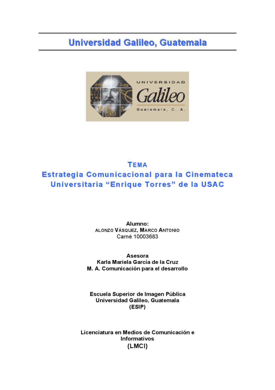 Alonzo Vásquez, Marco Antonio by Universidad Galileo - issuu