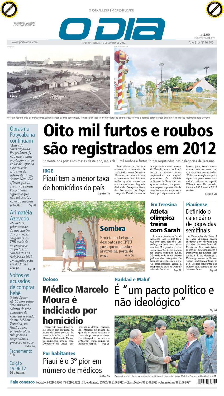 JORNAL O DIA by Jornal O Dia - issuu 5ade752e64c5d
