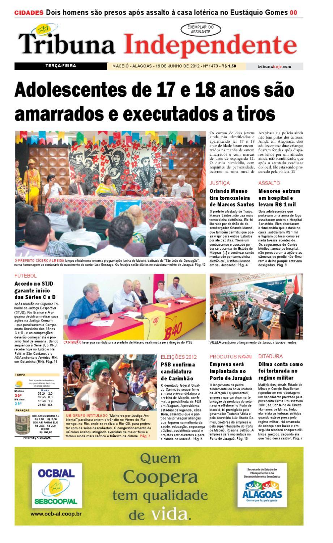 87b9b2c1d3459 Edição 1473 - 19 de junho de 2012 by Tribuna Hoje - issuu