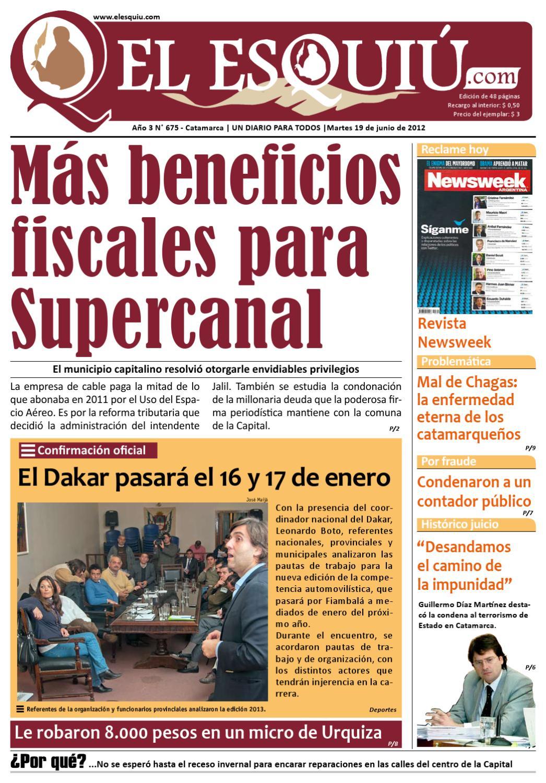 El Esquiu.com MArtes 19 de juniod de 2012 by Editorial El Esquiú - issuu