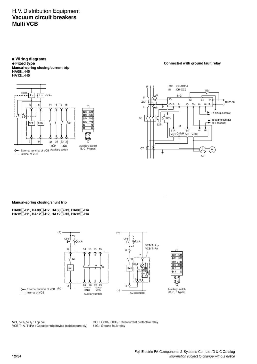 vacuum circuit breakers by s t control co   ltd