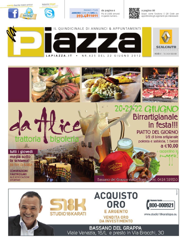 la Piazza 425 by la Piazza di Cavazzin Daniele - issuu 310358365ee7