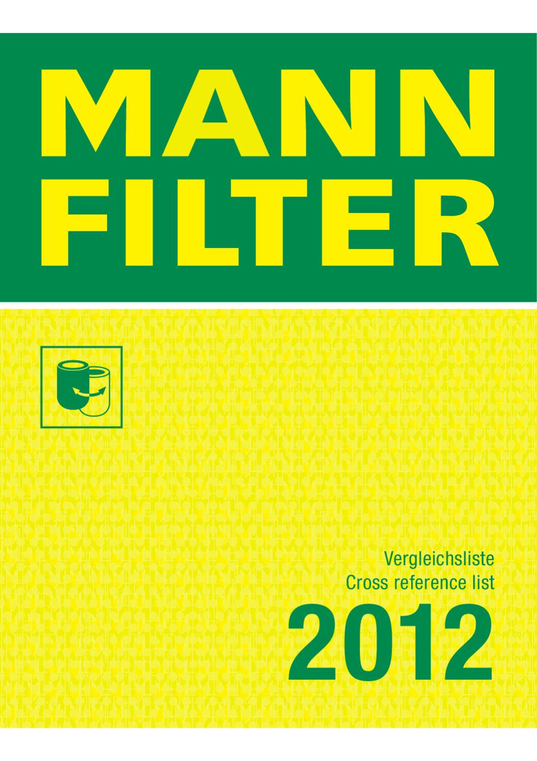 Mann Filter C3136 Filtre /à air
