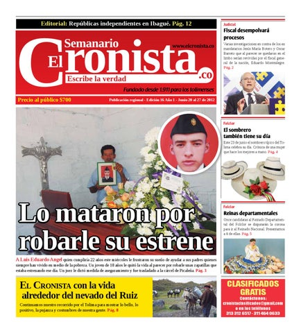 Editorial  Repúblicas independientes en Ibagué. Pág. 12 a3407cd195d