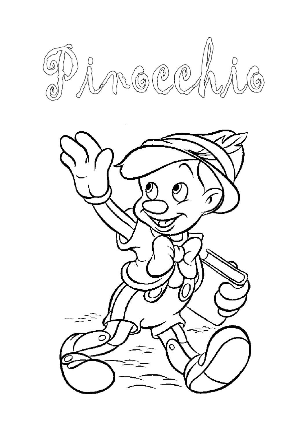 Pinocchio by stefano ceppi issuu for Immagini da colorare walt disney