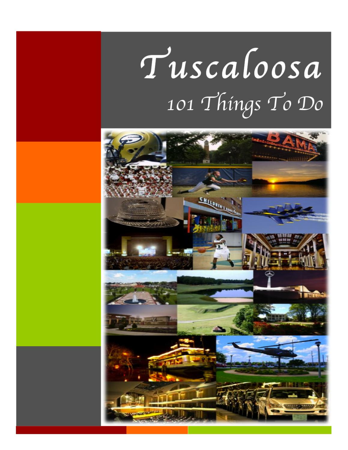101 Things To Do In Tuscaloosa By Tuscaloosa Tourism Sports