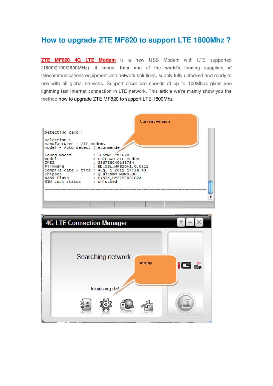 Zte usb modem firmware update.