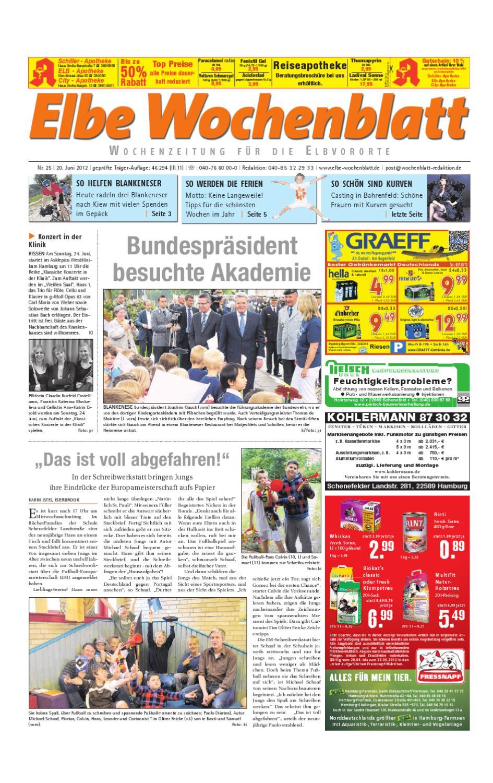 Elbvororte KW25 by Elbe Wochenblatt Verlagsgesellschaft mbH