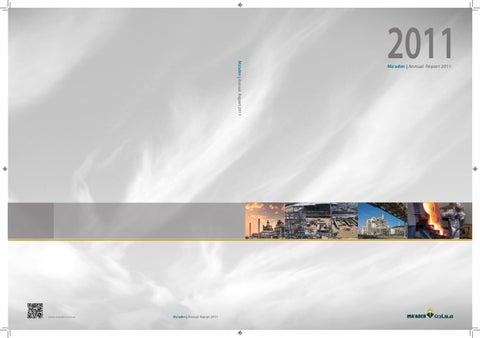 Annual Report 2011 English by Eduardo Barrete - issuu
