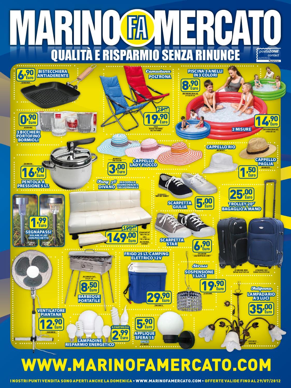 Marino Fa Mercato Divani.Marino Fa Mercato Offerte Luglio 2012 By Marino Fa Mercato Spa Issuu