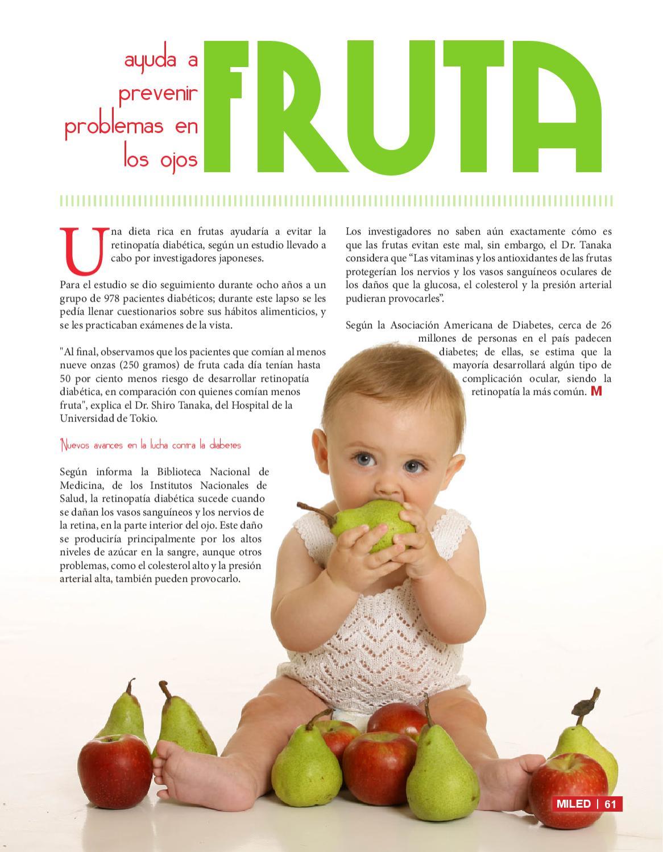 problemas oculares por diabetes dieta