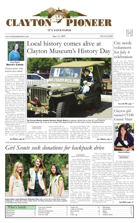 948df54dbea317 JUN 12 Clayton Pioneer 2009.pdf by Pioneer Publishers - issuu