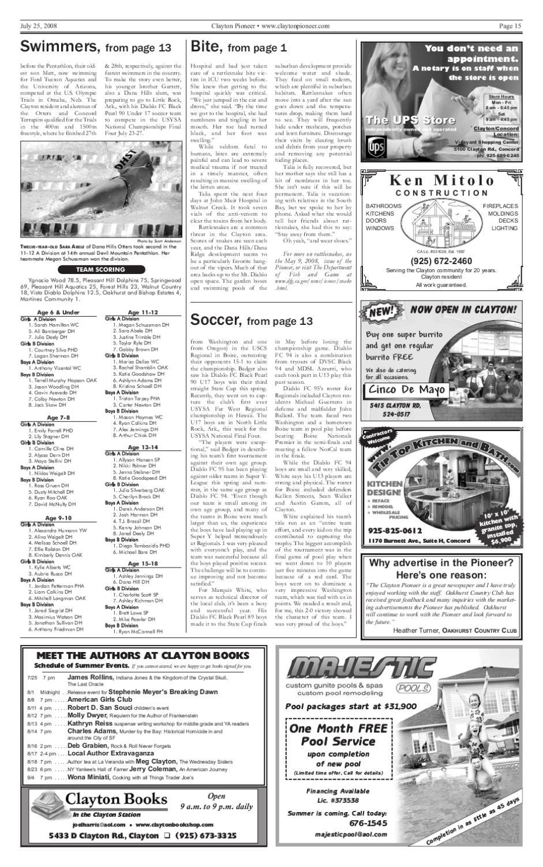 Jul 25 Clayton Pioneer 2008 Pdf By Pioneer Publishers Issuu