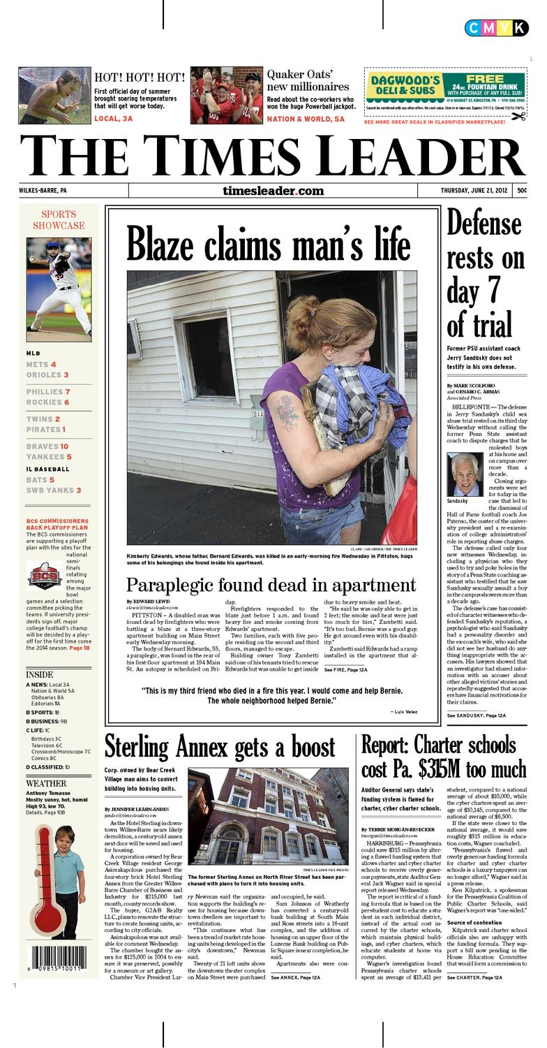 Times Leader 06-21-2012 by The Wilkes-Barre Publishing Company - issuu f3e0c090c
