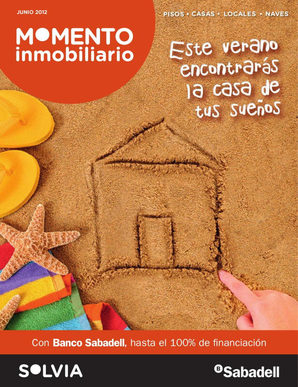 Solvia revista momento inmobiliario verano by banco for Pisos de banco sabadell