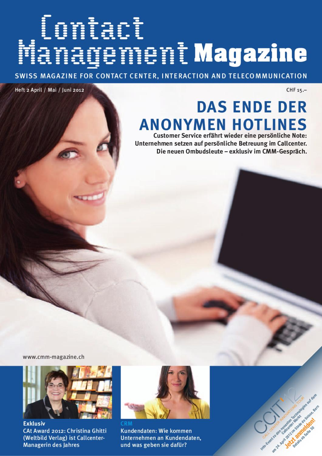 CMM 2/12 by Contact Management Magazine - issuu
