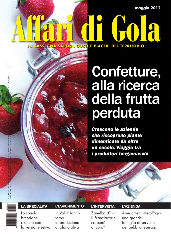 Affari di gola maggio 2012 by affari di gola issuu for Ruggieri arredamenti