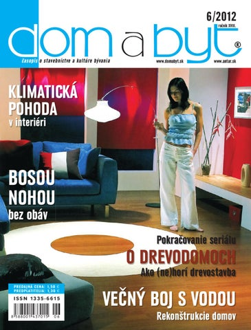 Dom a Byt 6 2012 by ANTAR - issuu d69ab9fa28e