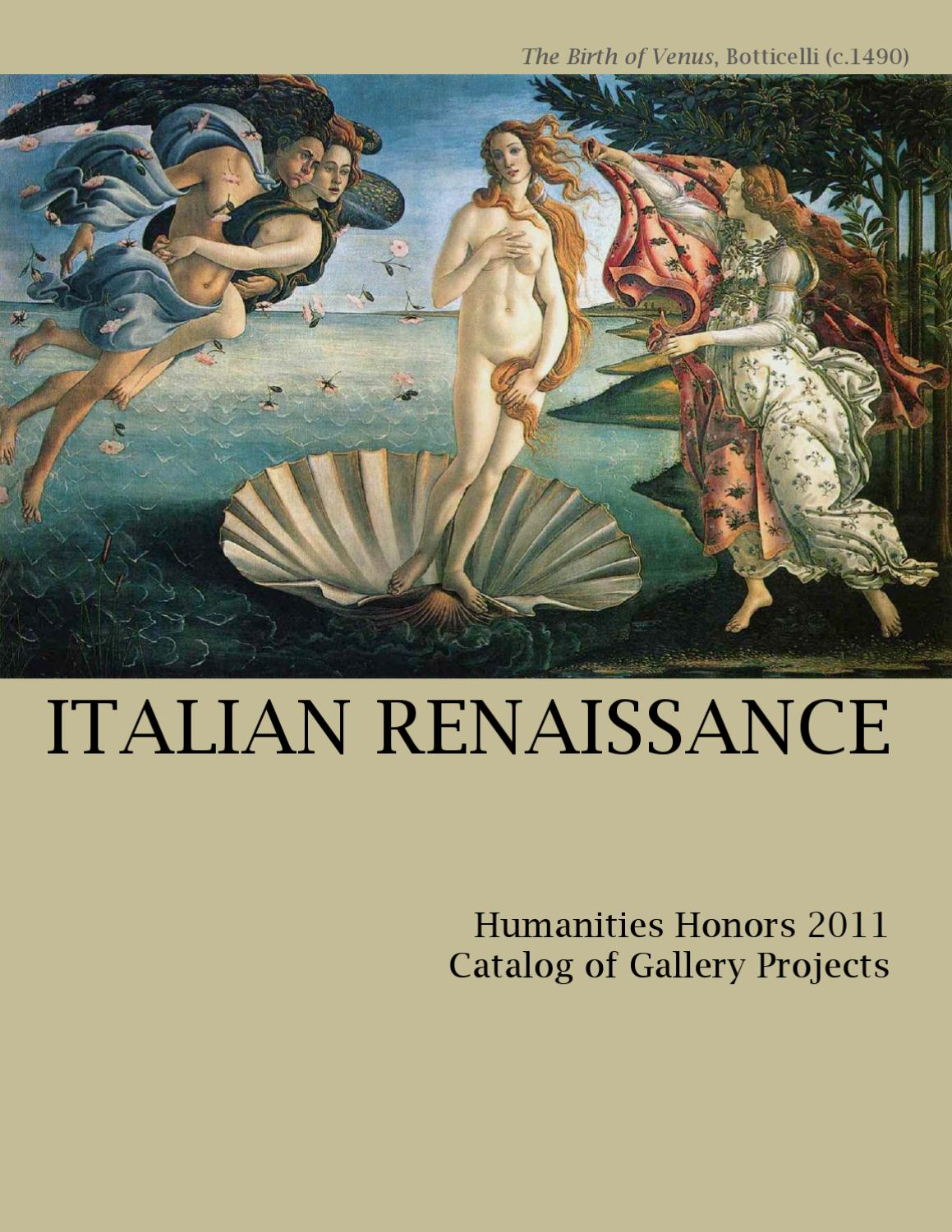 italian renaissance essay Renaissance essays | see the list of sample papers for free - bla bla writing.