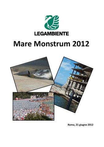 Dossier Mare Monstrum 2012 By Legambiente Onlus Issuu