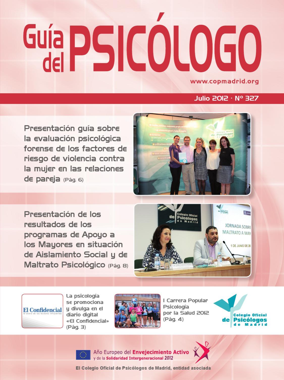 Guía del Psicólogo by Colegio Oficial de Psicólogos de Madrid - issuu