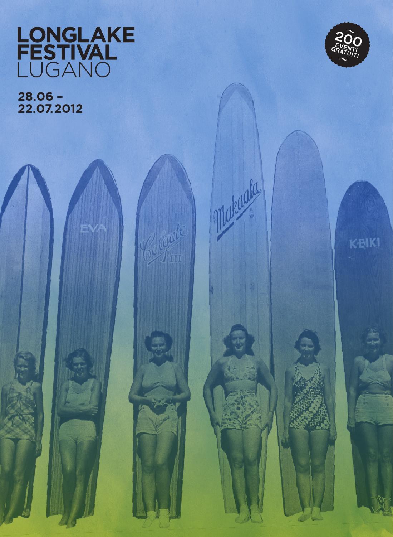 Magazine Longlake Festival Lugano 2012 By Dicastero Giovani Ed