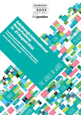 Edinburgh International Book Festival Programme 2012 By Festivals