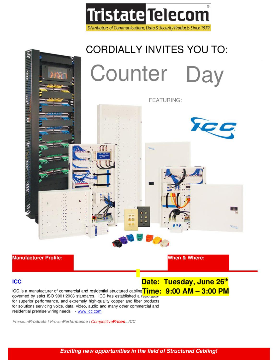 ICC Counter Day @Tristate Telecom by Tristate Telecom Inc. - issuu on