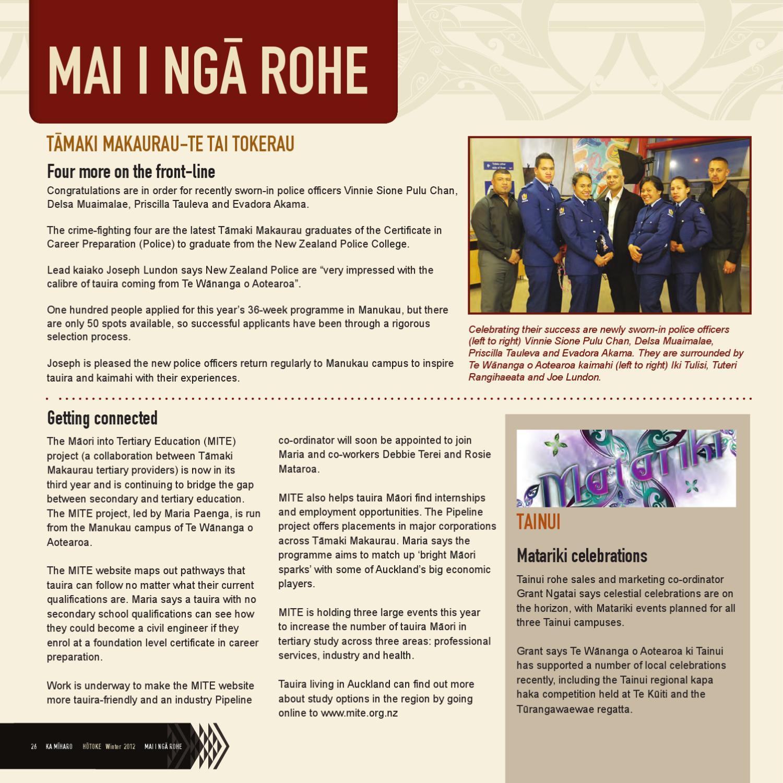 Ka miharo issue 7 hotoke 2012 by te wananga o aotearoa issuu 1betcityfo Choice Image