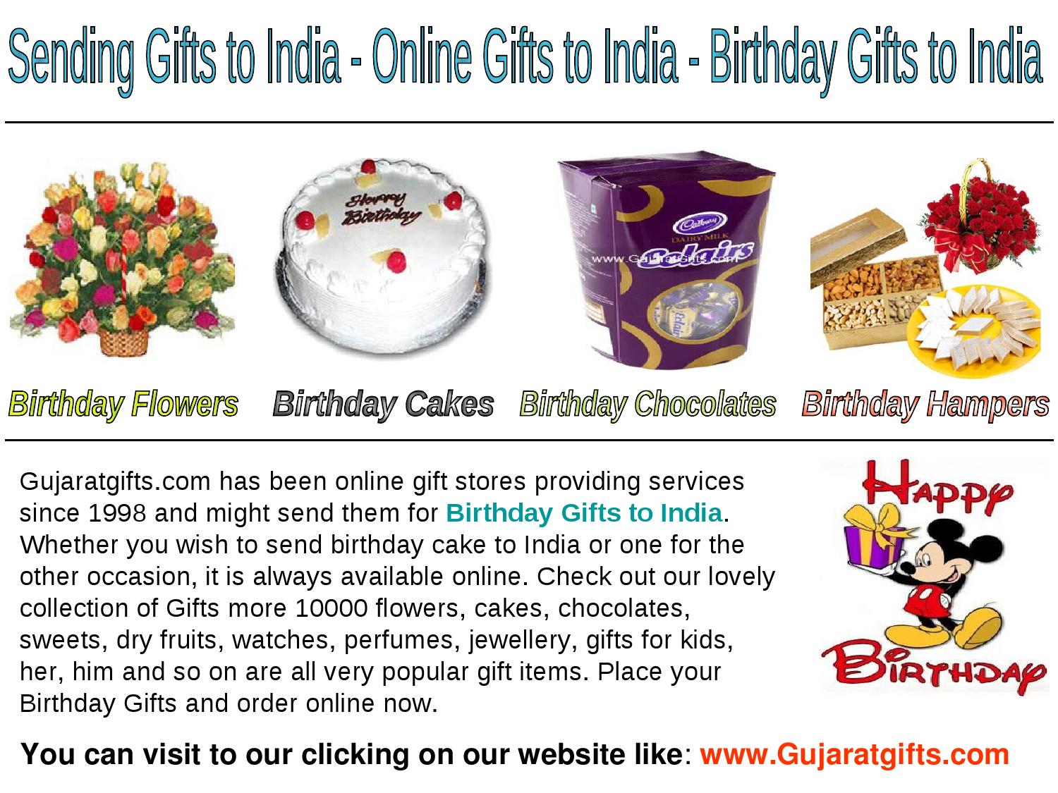 Free Delivery On Offer To Send Birthday Gifts India By Pooja Kumari