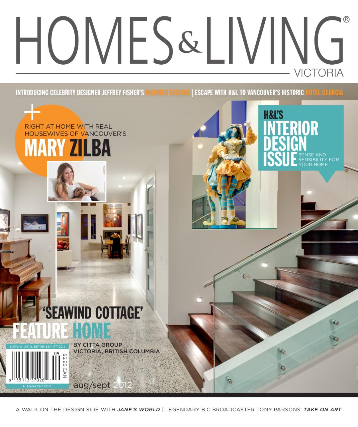 Homes Living Victoria Aug Sept Issue By Magazine HL
