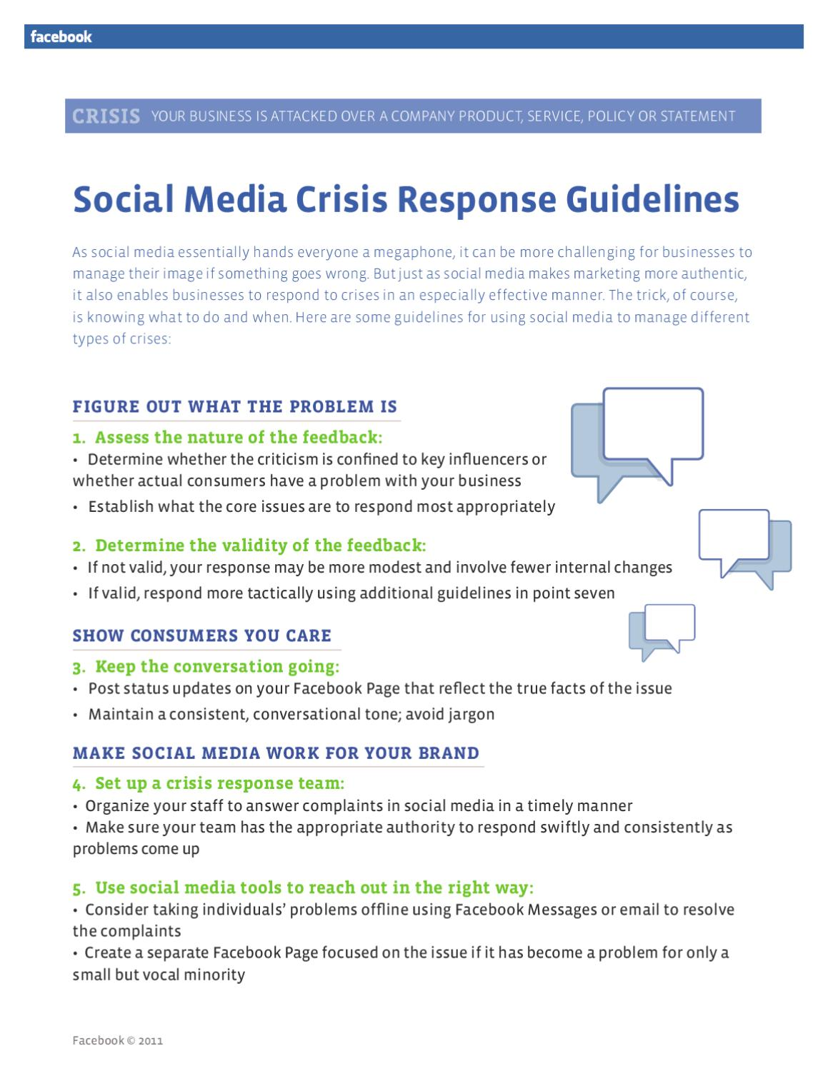 Facebook social media crisis by Lorenzo Ghini - issuu