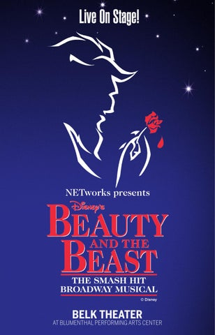 Disney S Beauty And The Beast Playbill By Blumenthal Performing Arts Issuu
