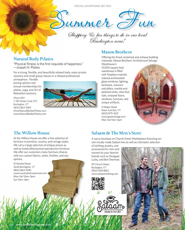 Summer Fun Summer 2012 By Best Of Burlington Magazine Issuu