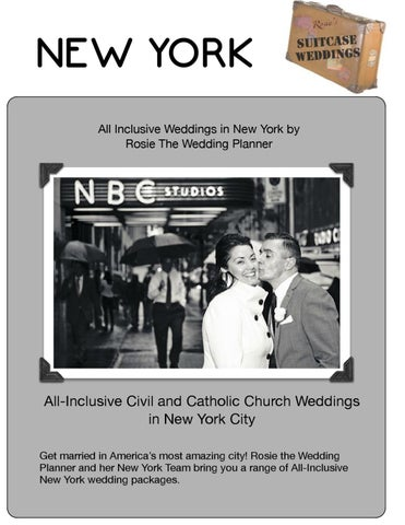 New York All Inclusive Weddings In By Rosie The Wedding Planner