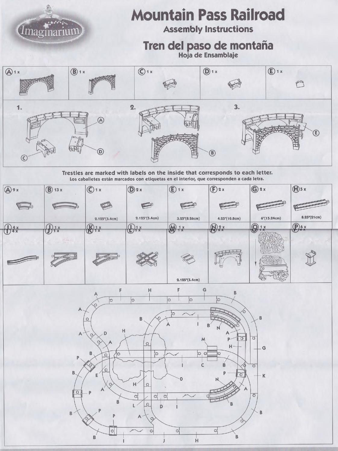 Interesting Mountain Train Table Instructions Images - Best Image ...