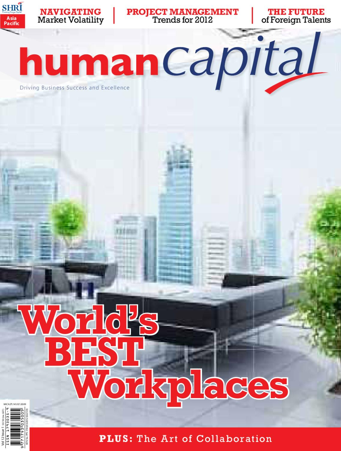 Human Capital Volume 12 Issue 1 by People Trends - issuu