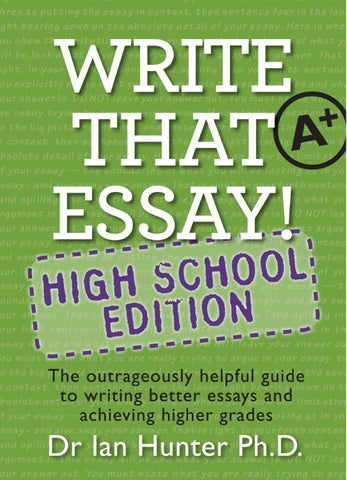 a helpful guide for writers essay Many students need help with essay writing learn about the best writing services company that provides quality papers for your academic work.