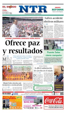 7f61aaf292b3 El Diario NTR by NTR Medios de Comunicación - issuu