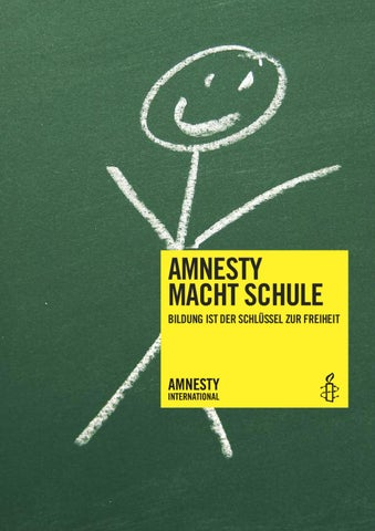 Amnesty macht Schule by Amnesty International - issuu