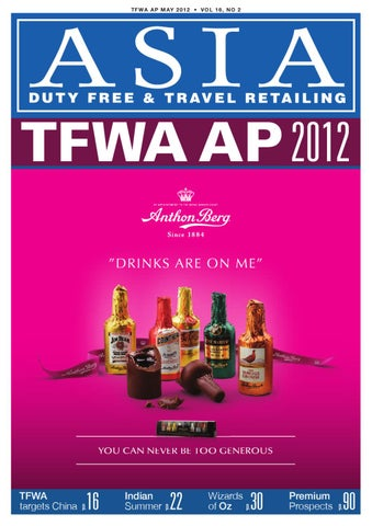 f721a8b5ee637 ASIA Duty Free   Travel Retailing Magazine by Global Marketing ...